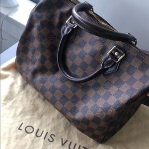 Authentic Louis Vuitton Daniel Speedy 30